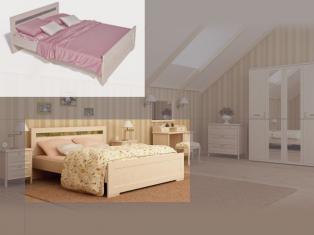 01.162А с/орт. Кровать 1,5-х спалн.