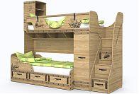 Детская кровать КОРСАР-4 + КОРСАР-3