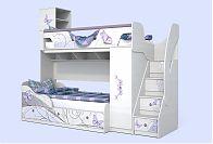Детская кровать ЛЕДИ-4 + ЛЕДИ-3