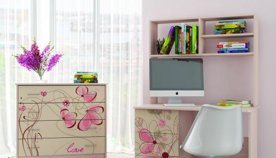 Детская мебель Нежность