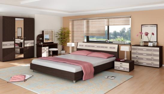 Мебель для спальни Ривьера