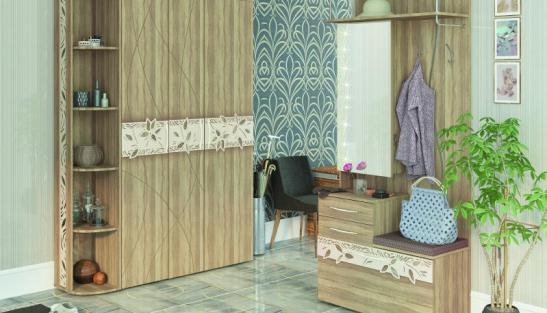 Набор мебели для прихожей Ассоль