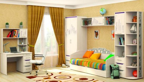 Набор подростковой мебели Мегаполис