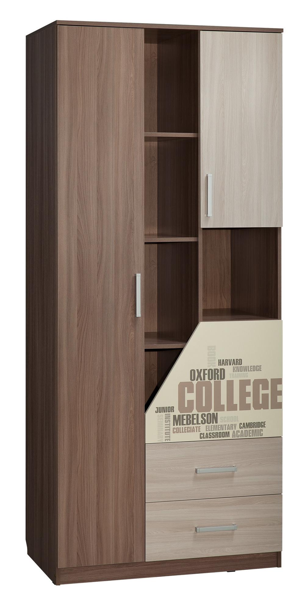 Колледж шкаф комбинированный