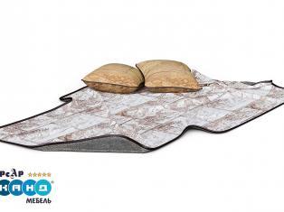 Комплект мягких элементов «Корсар» (покрывало+подушки 2 шт.)  Описание: