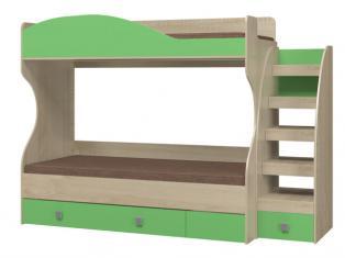 Кровать 2-х ярусная с настилом ИД 01.503