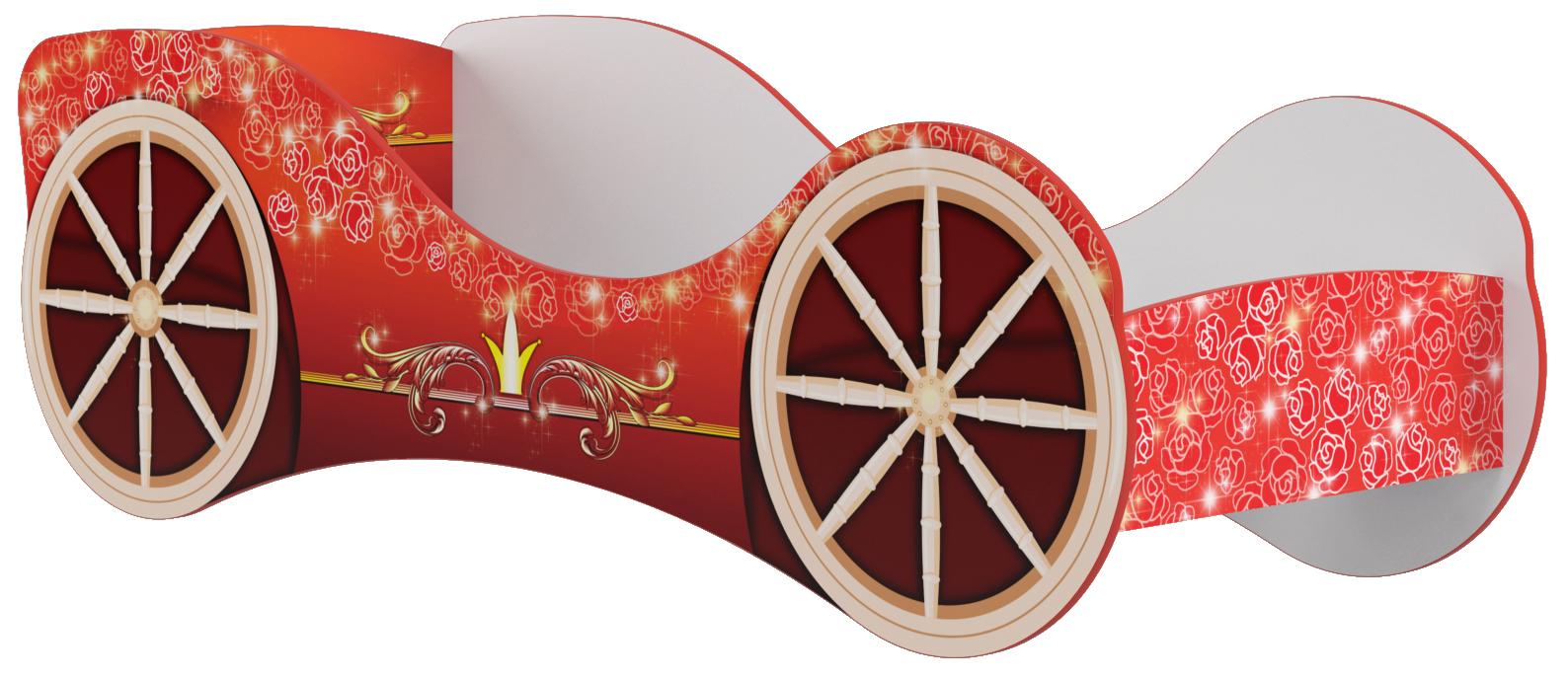 Кровать КР-8 Принцессы 700х2130х830