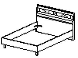 Кровать Спальное место 1400-2000 96.02