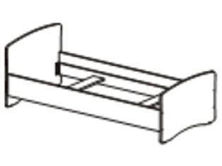 Кровать спальное место 900-2000 53.10
