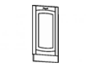 Панель для посудомоечной машины на 450 (без столешницы) 45х82  06.70