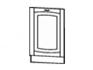 Панель для посудомоечной машины на 600 (без столешницы) 60х82  03.69