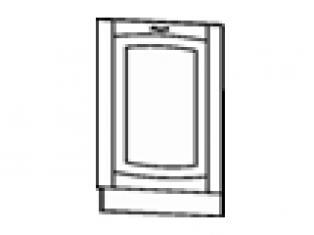Панель для посудомоечной машины на 600 (без столешницы) 60х82  06.69
