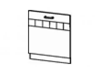 Панель для посудомоечной машины на 600мм (без столешницы) 60х82 10.69