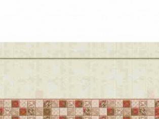 Панель стеновая высокоглянцевая СП 50 Керама крем уни, 2800х610, толщина - 6