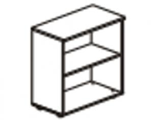 Шкаф 2 секции  76х39х83 61.41/ 62.41