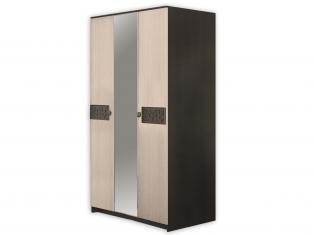 "Шкаф 3-х дверный распашной ""Каштан"""