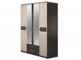 "Шкаф 4-х дверный распашной ""Каштан"""