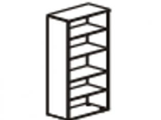 Шкаф 5 секций 76х39х200 61.40/62.40