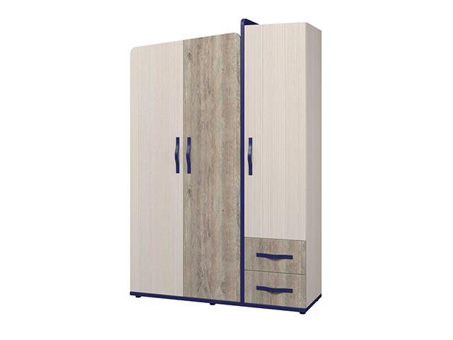 Шкаф для одежды 3х дв. ИД 01.347