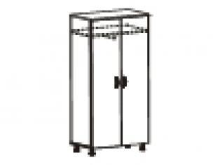 Шкаф для одежды 65х39х200 83.11