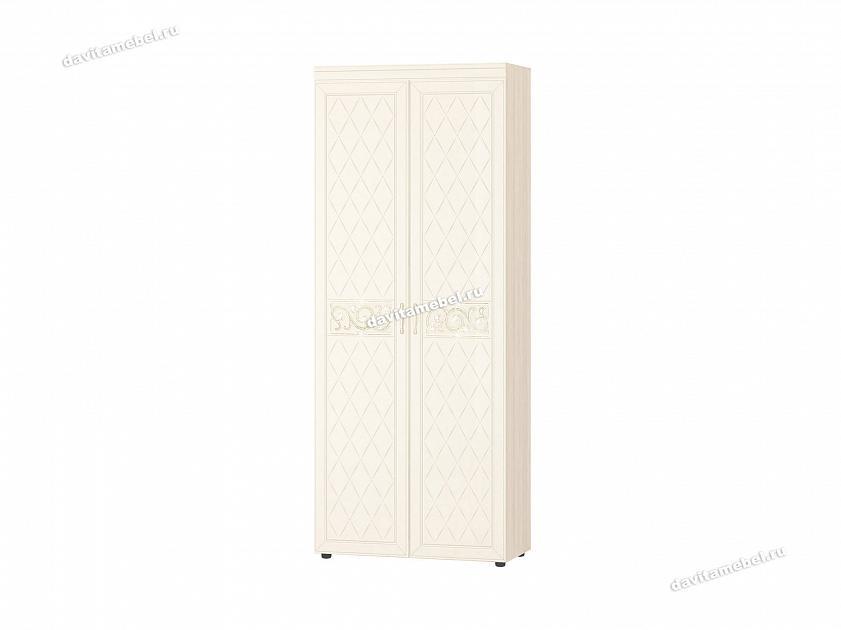 Шкаф для одежды с полками и штангой Тиффани 47.02