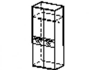 Шкаф двухдверный 96.11
