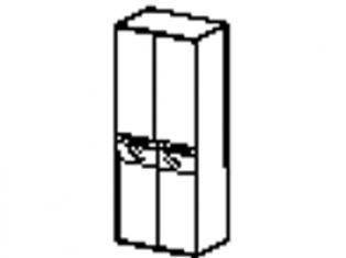 Шкаф двухдверный многофункциональный 96.13