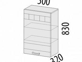 Шкаф лев/прав 500х320х830 10.10