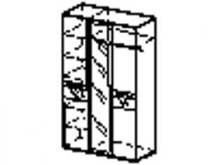 Шкаф трехдверный 96.12