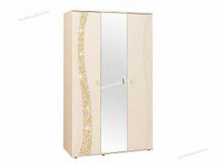 Шкаф трехдверный с зеркалом «Соната 98.12».