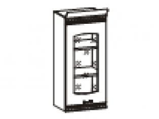 Шкаф-витрина () 40х31х88  06.04