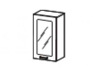 Шкаф-витрина 40х32х83 08.04