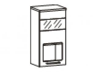 Шкаф-витрина 40х32х83 17.04