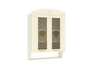 Шкаф-витрина кухонный с колоннами Милана 23.15 800х320х1130