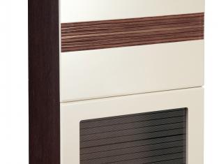 Шкаф-витрина кухонный (с системой плавного закрывания) 60х32х83 16.80.1