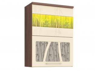 Шкаф-витрина кухонный (с системой плавного закрывания) 60х32х83 17.80.1