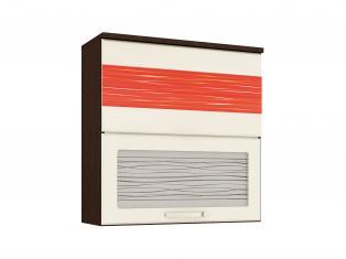 Шкаф-витрина кухонный (с системой плавного закрывания)  800x320x830 09.81.1