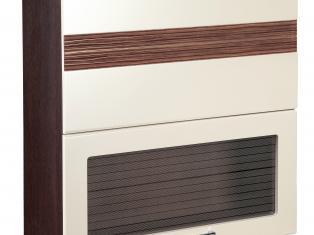 Шкаф-витрина кухонный (с системой плавного закрывания) 80х32х83 16.81.1