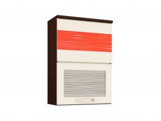 Шкаф-витрина кухонный (с системой плавного закрывания) 600x320x830 09.80.1