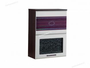 Шкаф-витрина кухонный (с системой плавного закрывания) Палермо 08.80