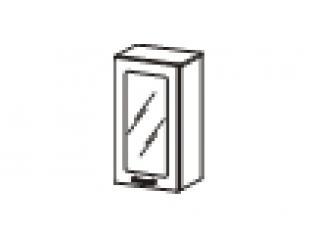 Шкаф-витрина (правый, левый) 40х32х83 10.04