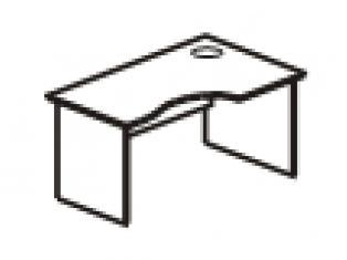 Стол эргономичный правый 135х90/60/50х75 41.47/42.47