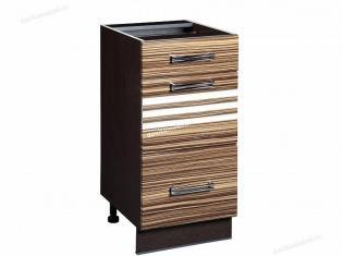 Стол кухонный (3 ящика с системой плавного закрывания) Рио 16.90
