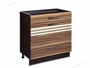 Стол кухонный (3 ящика с системой плавного закрывания) Рио 16.92