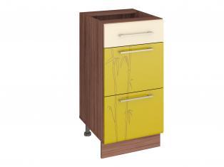Стол кухонный (3 ящика с системой плавного закрывания) Тропикана 40х53х82 17.90