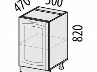 Стол кухонный (лев/прав) Глория 06.61