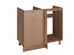Стол кухонный под мойку угловой (лев/прав) 900(1000*)x530x820 18.52