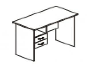 Стол однотумбовый 120х60х75 41.42/42.42