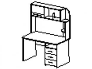 Стол письменный 96.26.1