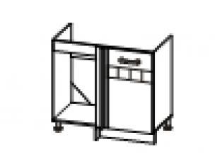 Стол под мойку угловой  (без столешницы) 100х47х82 10.52.1